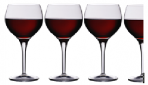 3.5 wine glasses