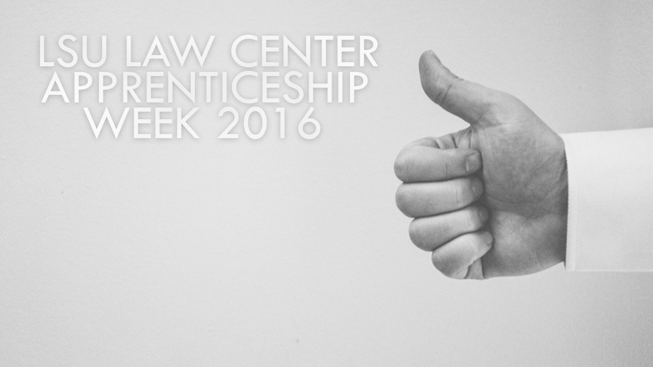 LSU Law App Week