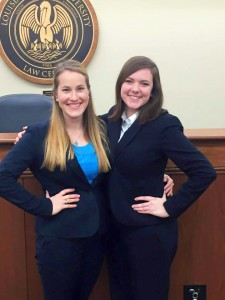 Congratulations to Caitlin Cline and Rome Gonsoulin, the winners of the 2016 LSU Arbitration Competition!