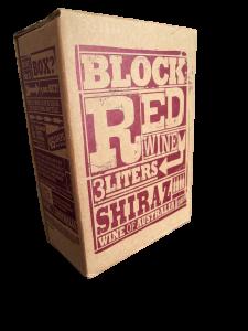 block red wine