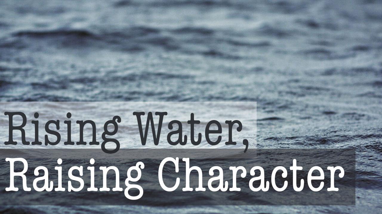 rising-water-raising-character-graphic