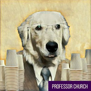 prof-church-dog