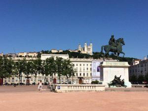 A view of Place Bellecour