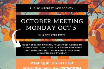 Lsu Calendar 2022.Lsu Law Public Interest Law Society
