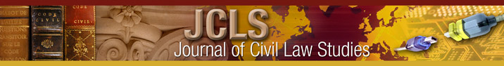 Banner of Journal of Civil Law Studies