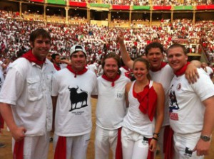 Running of the Bulls-Pamplona
