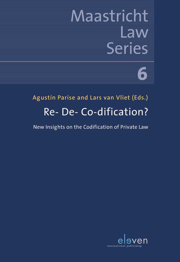 Re- De- Co-dification, book cover