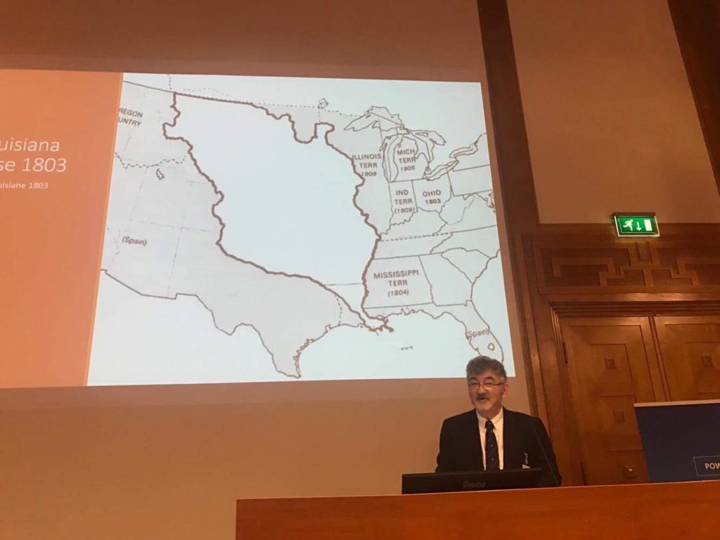 Prof. Moreteau presenting at the Law and Language Symposium, Maastricht, Sept 27, 2019