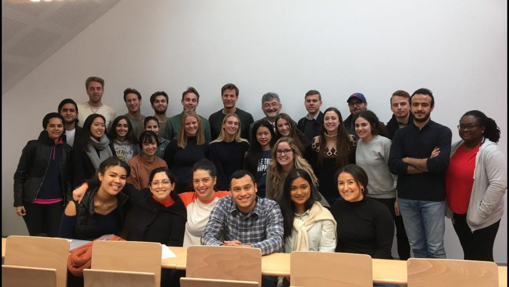 Professor Moréteau with his Comparative Tort Law Students after an intensive week (18 hours)